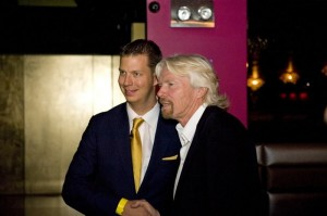 Richard Branson with JT Foxx