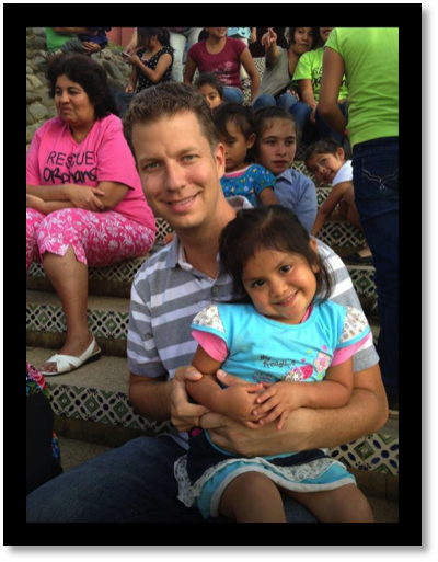 At an orphanage in Guatemala