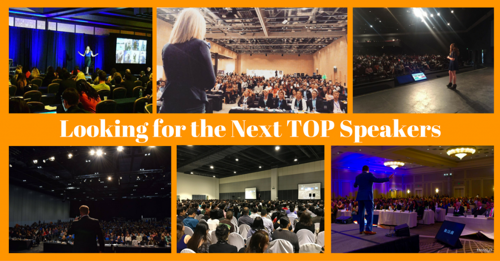 Sample of some of our speakers on stages around the world.